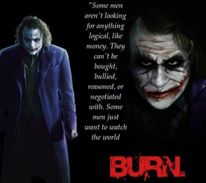 Joker quotes, deep, sayings, best, picture