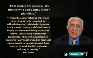 How the heck does Ben Stein live without a heart?
