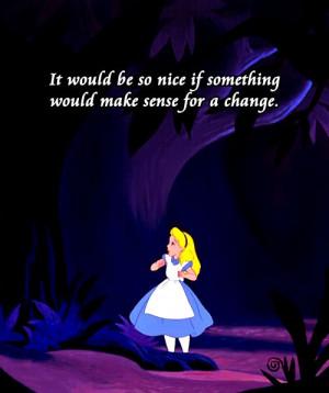 alice in wonderland quotes disney -