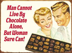 Woman Chocolate
