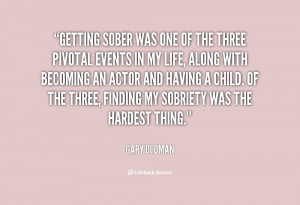 Quotes About Getting Sober