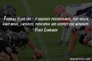 Hard Work Football Quotes