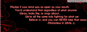 Motionless In White Quote Profile Facebook Covers