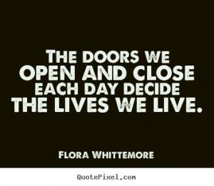 Life Opens Door Quotes
