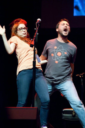 Wil Wheaton, Felicia Day being perfect weirdos together