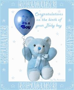 congratulation on your new baby boy quotes | Clouds come floating into ...