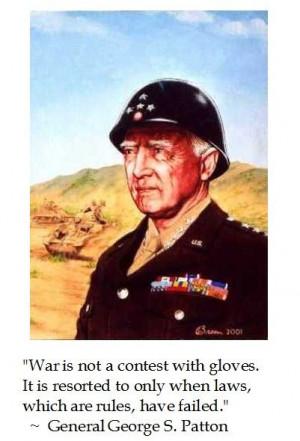 George Patton on War