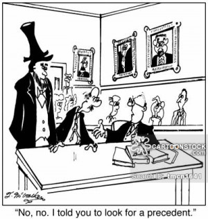 precedent cartoons, precedent cartoon, funny, precedent picture ...
