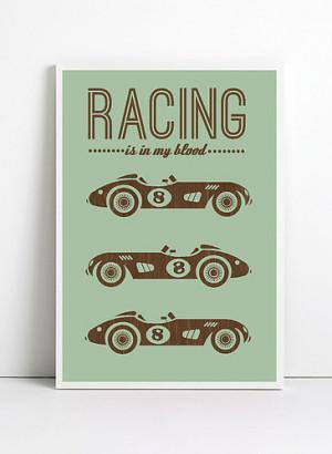 Car Racing Quotes Tumblr Inspirational quote print