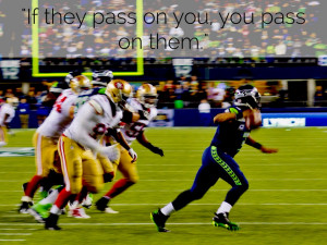 If they pass on you, you pass on them.