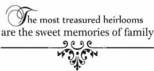 ... the sweet memories of family wall quote wall decals wall decals quotes