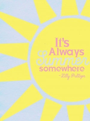 sunny days :)