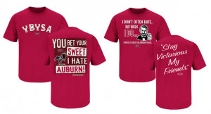Alabama Crimson Tide Smack T's–the shirt says it all