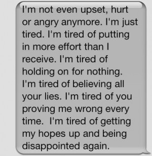 Tired Being Hurt Quotes Pictures