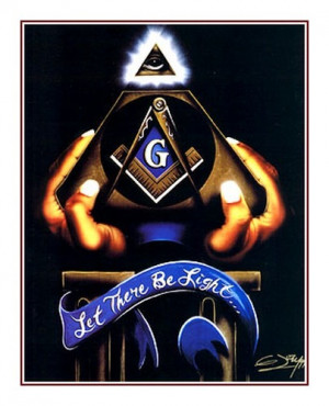 ... Insights by Gerald Ivey (Black Masonic Art Print - Size: 24x32 inches