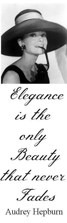 elegance audrey hepburn 9060 audrey hepburn quote audrey hepburn quote ...