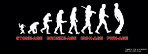 Funny Evolution Facebook Covers