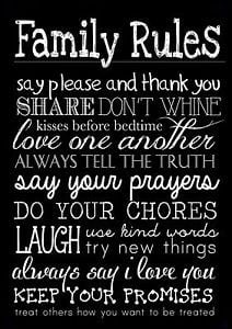 FAMILY-RULES-3-LIFE-INSPIRATIONAL-MOTIVATIONAL-QUOTE-POSTER-PRINT