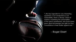 the key ingredient in any interesting superhero…