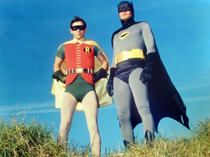 Whoops, wrong Batman and Robin. Oh well, these guys were better ...