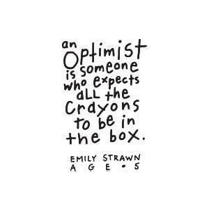 Funny optimism quotes
