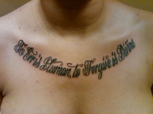 Related To Chest Tattoos Quotes About God 24 For Men picture