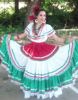 Traditional Mexican Dress Ladies