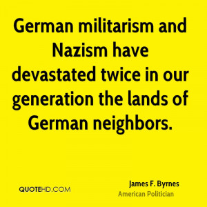 James F. Byrnes Quotes
