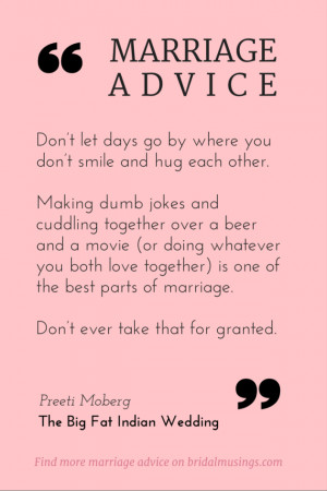 Marriage Advice Essay