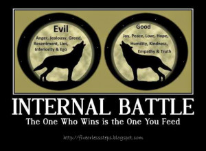The Battle Between Good and Evil
