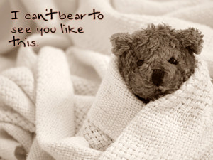 ... Can't Bear to See You Like This - Get Well Soon Wishes for Girlfriend