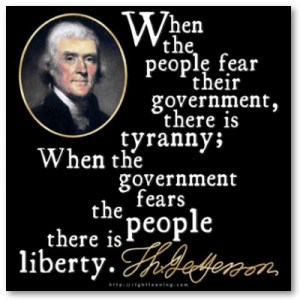 none dare call it tyranny if you want to know what tyranny is like ...