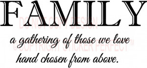 family a gathering of those we happy quotes 80 png