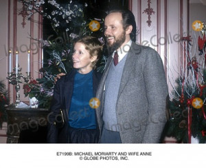 Michael Moriarty Picture Michael Moriarty and Wife Anne Globe Photos