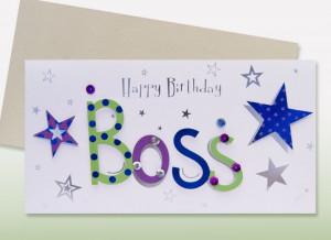 Happy Birthday Den Boss