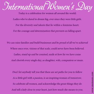International Women's Day | A Poem by Ms Moem