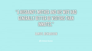 Mother and Wife Quotes