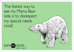 Mama Bear! #autismawareness