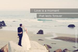 Beach Wedding Quotes Wedding quote: love