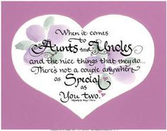 for my favorite aunt aunts and uncles more plectron sayings and quotes ...