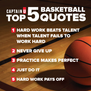 These quotes were generated from basketball players' CaptainU ...