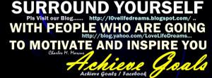 Reaching Goals Quotes Achieve goals