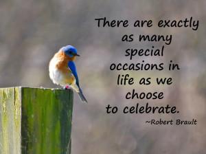 Celebrate Each Day~