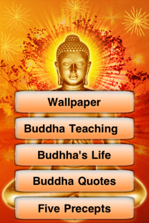Lord Buddha Wallpaper Credited