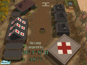 Mash 4077 Camp