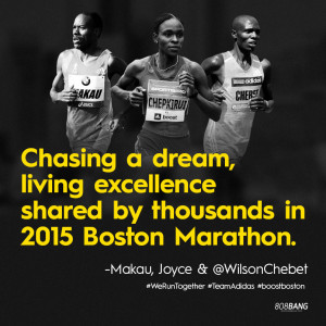 ... Chebet sent us this media piece and some great quotes and links