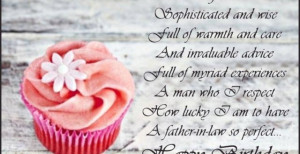 Birthday Quotes For My Father In Law ~ Birthday Wishes To My Father-In ...