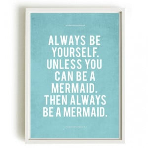 ... Mermaid, Bathroom Quotes, Quotes Art, Dust Covers, Book Jackets, Dust