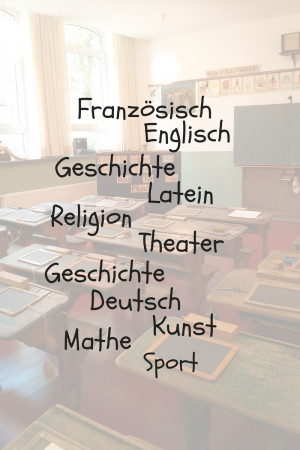 "... and the question came up:""What subject do German children learn"