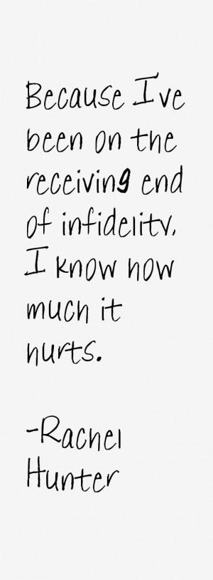 Rachel Hunter Quotes & Sayings